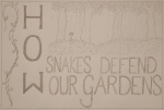 How Snakes Defend our Gardens