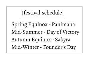 Carmine City Festivals